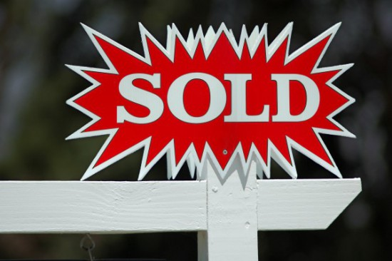 Sold Sign, Isolated
